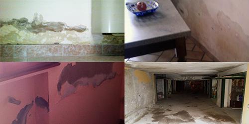 Umidità di risalita su pavimenti e muri: come sconfiggerla definitivamente